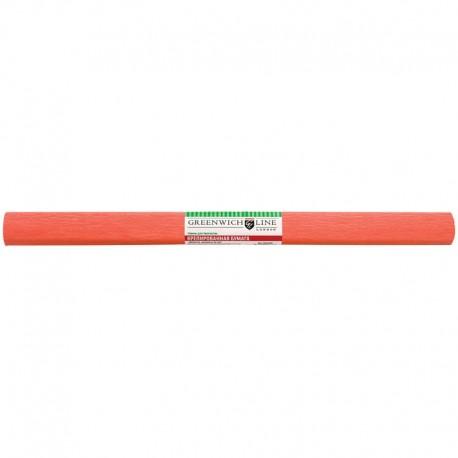 Цветная бумага крепированная Greenwich Line 50*250см. лосось, в рулоне (CR25024)
