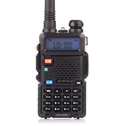 Радиостанция Baofeng UV-5R 5W VHF(136-174MHz) UHF(400-520MHz) Li-ion 1500mAh