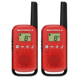 Радиостанция Motorola TalkAbout T42 Red (2 штуки) 0.5W PMR(446-446.1MHz) 3хAAA