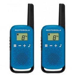 Радиостанция Motorola TalkAbout T42 Blue (2 штуки) 0.5W PMR(446-446.1MHz) 3хAAA
