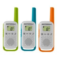 Радиостанция Motorola TalkAbout T42 TRIPLE (3 штуки) 0.5W PMR(446-446.1MHz) 3хAAA