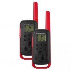 Радиостанция Motorola TalkAbout T62 Red (2 штуки) 0.5W PMR(446-446.1MHz) Ni-Mh 800mAh