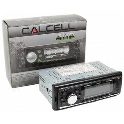 Автомагнитола CALCELL CAR-465U 1DIN, 4x35Вт, MP3, FM, SD, USB, AUX