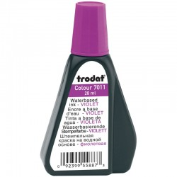 Штемпельная краска 28мл. TRODAT 7011ф фиолетовая