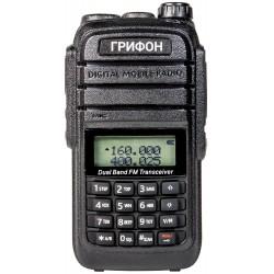 Радиостанция Грифон G-6 5W VHF(136-174MHz) UHF(400-520MHz) Li-ion 1800mAh