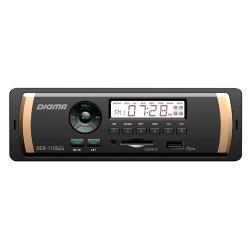 Автомагнитола Digma DCR-110G24 1DIN, 4x45Вт, MP3, FM, USB, AUX