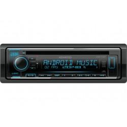 Автомагнитола Kenwood KDC-172Y 1DIN, 4x50Вт, MP3, FM, USB, AUX, съемная панель