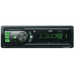 Автомагнитола Mystery MAR-828U 1DIN, 4х50Вт, MP3, FM, SD, USB, AUX, ПДУ, съемная панель