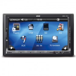 "Автомагнитола Mystery MDD-7007 2DIN, 7"", 4x55Вт, MP3, FM, SD, USB, AUX, ПДУ"