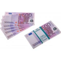"""Деньги сувенирные для выкупа """"500 евро"""""""