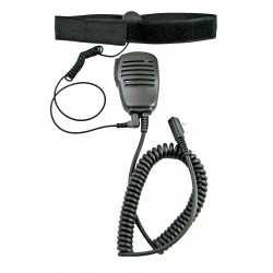 Ларингофон L-02-01 мягкий с тангентой SMP-01