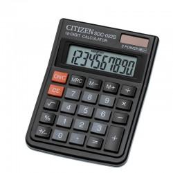 Калькулятор CITIZEN SDC-022S 10 разрядов, черный