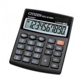 Калькулятор CITIZEN SDC-810BN 10 разряд, черный