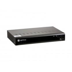 IP-видеорегистратор Optimus NVR-8081 до 8 IP камер 8Мп 3840х2160, H.265/H.264