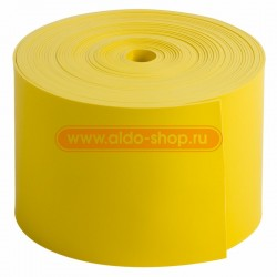 Лента тeрмоусаживаемая с клеевым слоем REXANT 50 мм х 0,8 мм, желтая, ролик 5 м, ТЛ-0,8