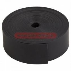 Лента тeрмоусаживаемая с клеевым слоем REXANT 25 мм х 0,8 мм, черная, ролик 5 м, ТЛ-0,8