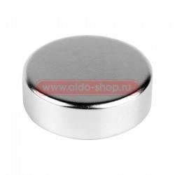 Неодимовый магнит диск 30х10мм сцепление 21 Кг Rexant