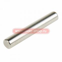 Неодимовый магнит пруток 4х25 мм  сцепление 1,3 кг (Упаковка 6 шт) Rexant