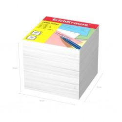 Блок для записей Erich Krause 9*9*9см. белый (4454)