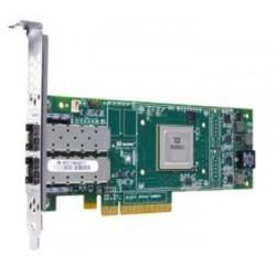Qlogic QLE2672 16Gb Dual Port FC HBA, x8 PCIe, SR LC multi-mode optic