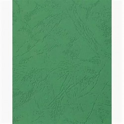 Обложки для переплета Lamirel Delta A4, картон, с тиснением под кожу , зелен, 230г/м, 100ш  LA-78770