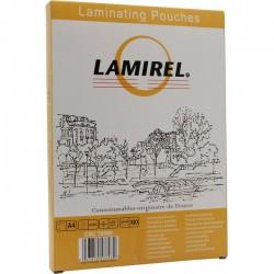 Пленка для ламинирования А4, 125мкм, Lamirel, 100шт. LA-78660