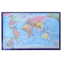 """Покрытие на стол 38*59см. """"Карта мира"""" (194915)"""