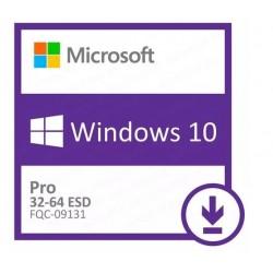 Win Pro 10 32-bit/64-bit All Lng PK Lic Online DwnLd NR FQC-09131