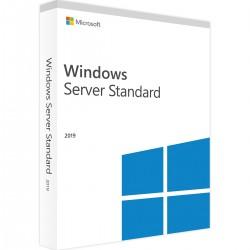 Windows Svr Std 2019 64Bit English DVD 5 Clt 16 Core License P73-07680