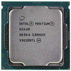 Процессор Intel Pentium G5420 (2ядра/4потока*3,80GHz,4Mb,UHD610,54Вт,Sock1151v2,oem)