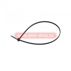 Стяжка кабельная REXANT 400х4,8 черная/100шт.