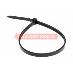Стяжка кабельная REXANT 200х2,5 черная/100шт.