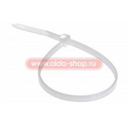 Стяжка кабельная REXANT 200х3,6 белая/100шт.