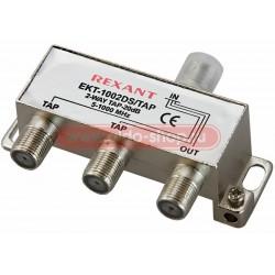 Ответвитель сигнала 2 x 20db REXANT/5-1000Мгц