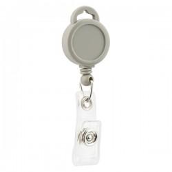Держатель-рулетка для бейджа Axent серый, 38 см (4519-03-A)