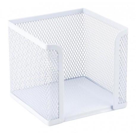 Подставка Axent для бумажного блока, металлическая, белая (2112-21-A)