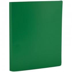 Папка с боковым прижимом Спейс 14мм, 450мкм, зеленая (FC4 314)