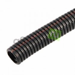 Труба гофрированная разрезная D9,8мм/автомобильная