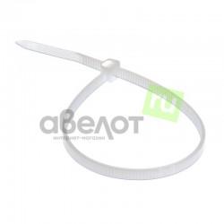 Стяжка кабельная REXANT 200х2,5 белая/100шт.