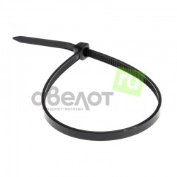 Стяжка кабельная REXANT 150х2,5 черная/100шт.