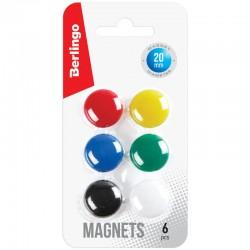 Магнит для досок BERLINGO 2см. 6шт. европодвес (SMm 02010)