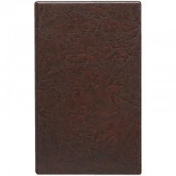 Алфавитная книга ДПС 150*250мм, 24л., 12 файлов-разделителей, коричневая 1735.ЛИ-204