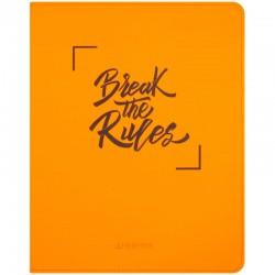 """Дневник 1-11кл. Greenwich Line 48л. """"Break the rules. Orange"""" иск. кожа (DSK22669s)"""