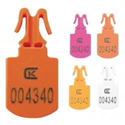 Пломба пластиковая номерная МИНИ, для опломбирования сумок, контейнеров
