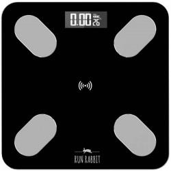 Весы RUN RABBIT RR-6BC Black стекло, точность 0,1кг, макс. 180кг, авто вкл/выкл, Bluetooth (RUN-RR-6BC)