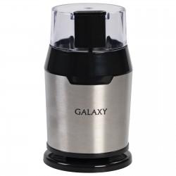 Кофемолка Galaxy GL 0906 Silver 200Вт, вместим. 60г, ротационный нож, сталь