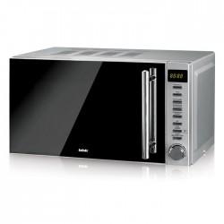 Микроволновая печь BBK 20MWS-721T/BS-M Silver/black (700Вт,20л,электр-е упр.)