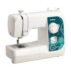 Швейная машина Brother LX-500 (электромеханическое управ.,реверс,14 операций,свет)