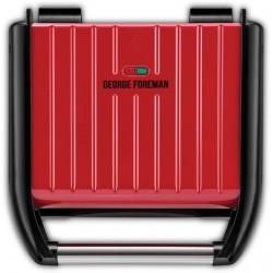 Гриль George Foreman 25040-56 Red 1200Вт, антипригарное покрытие, мех-е управление