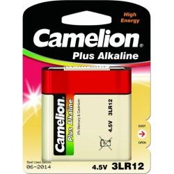 Батарейка 3LR12(квадратная) CAMELION Plus Alkaline 1 шт./4,5В. щелочная